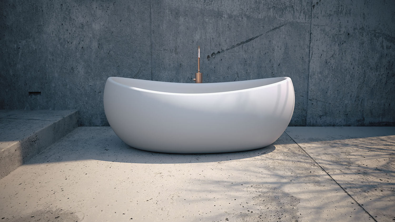 Front of Marina Freestanding Bathtub