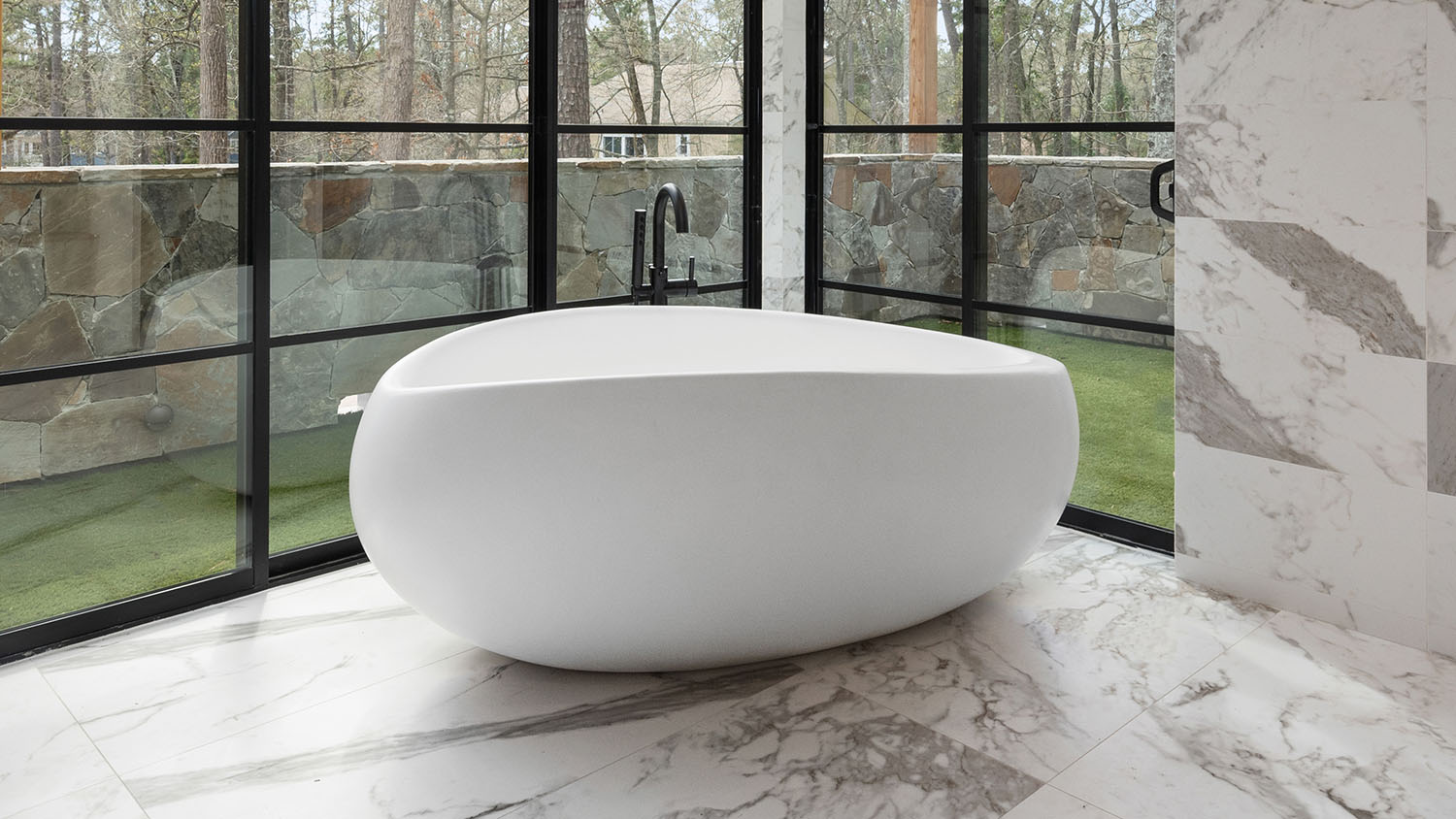 Madison Freestanding Tub Left View