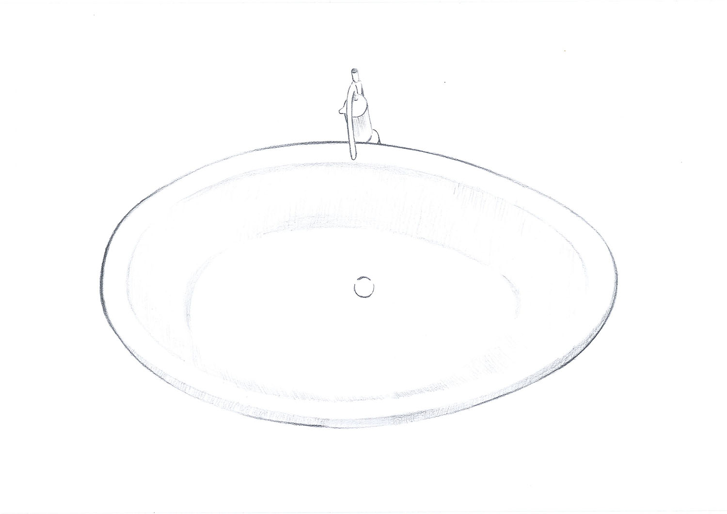 Top Concept View Madison Freestanding Bathtub